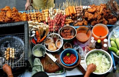 Десятый фестиваль уличной еды в Киеве