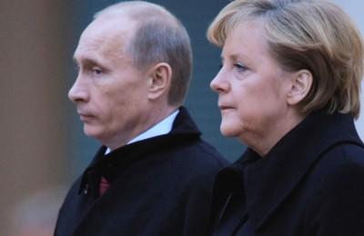 Меркель Путин