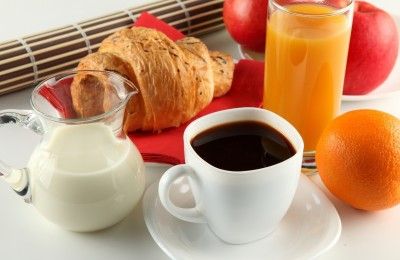 Сок кофе школад