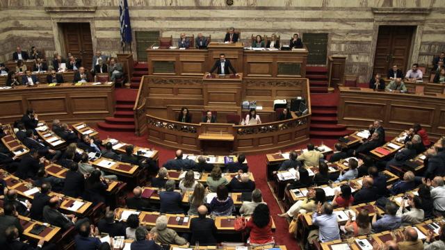 Греция парламент