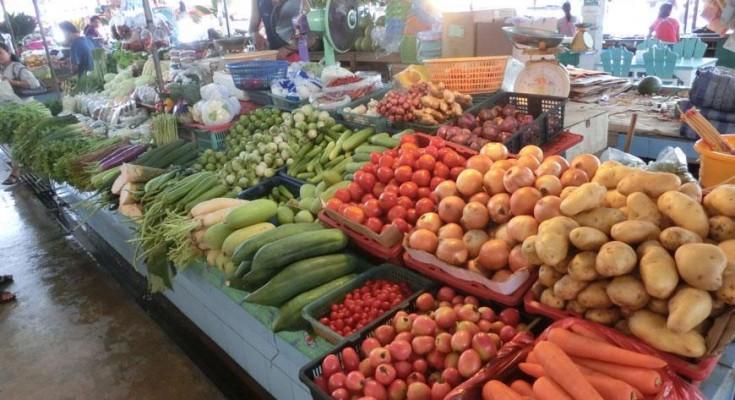 Овощи Рынок