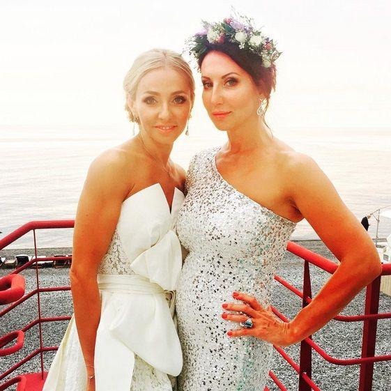 Свадьба Пескова и Навки фото