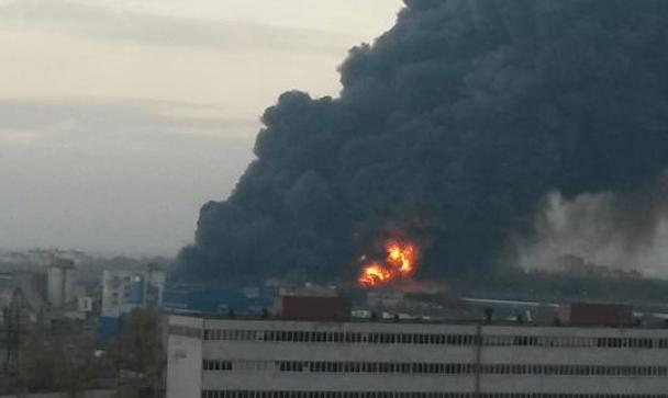 Пожар в Петербурге4