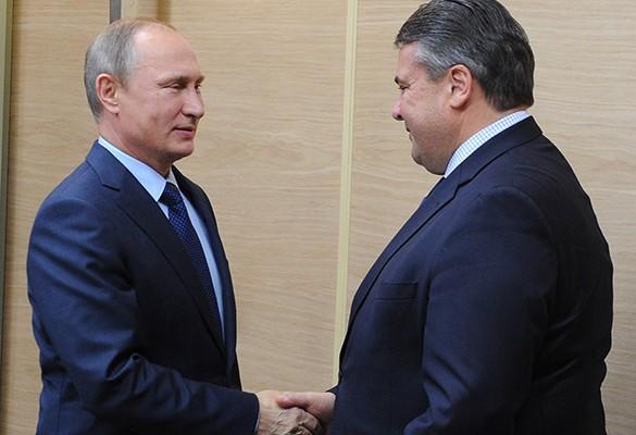 Путин и Зигмар