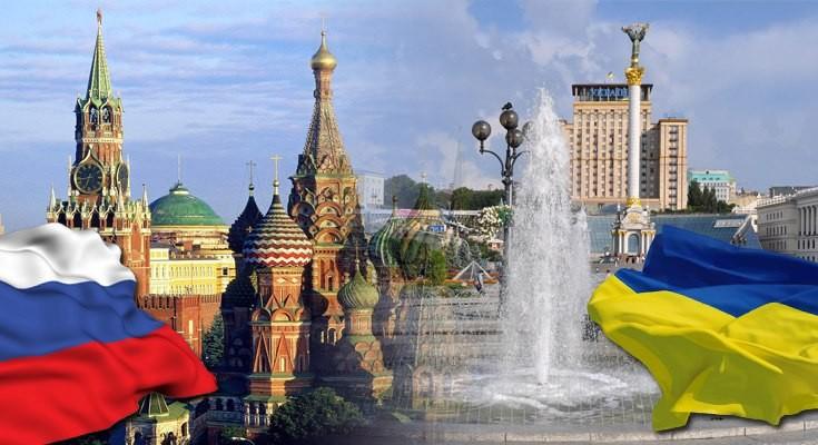 Торговля России и Украины