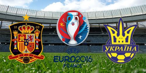 Украина Испания футбол