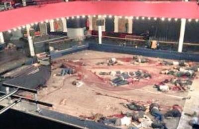 Последствия атаки террористов в театре Батаклан 13 ноября