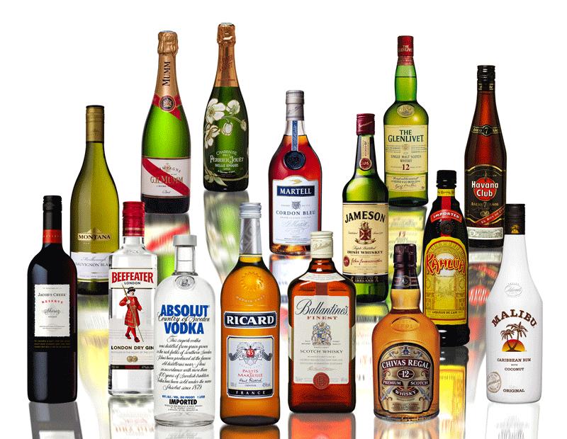 алкогольные напитки фото