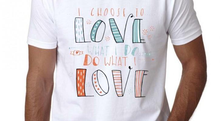Мужская-одежда-Мужские-Футболки-Мода-2017-забавные-выбрать-любовь-футболка-с-принтом-модная-новинка-короткий-рукав
